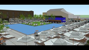 Think summer: Termini to start Chandler Street Pool Club work