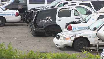 Buffalo Police union says officers need more cars, situation described as 'dire'
