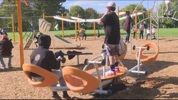 Orchard Park opens new Inclusive Playground