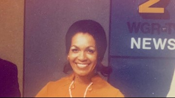 The woman who broke meteorological barriers worked in WNY