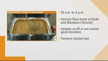 Lockport farmers market hosts Soup-a-Palooza 2020