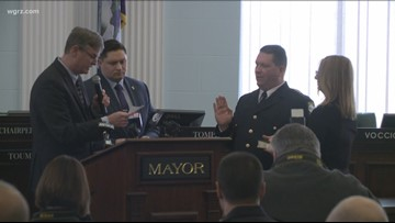 Niagara Falls Police swears in new superintendent of police
