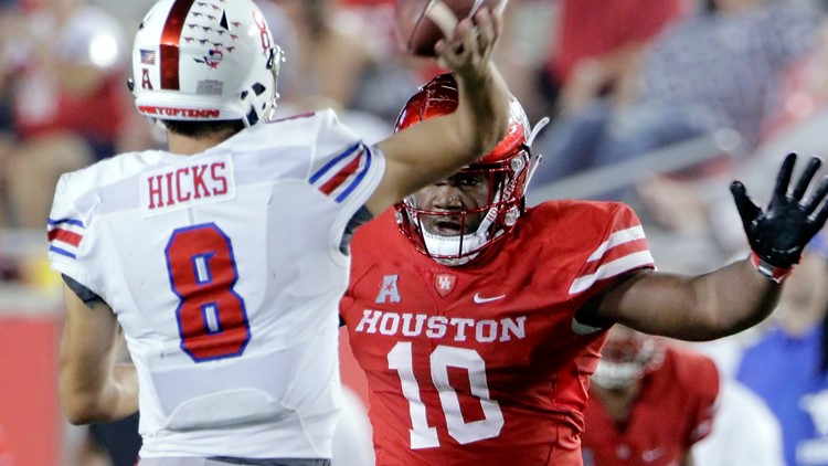 Houston DT Ed Oliver was very impressed when he met with the Bills