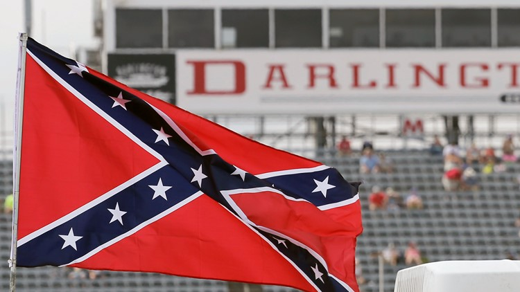 NASCAR bans Confederate flag from all events, properties