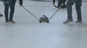 Holiday curling at Buffalo Curling Club