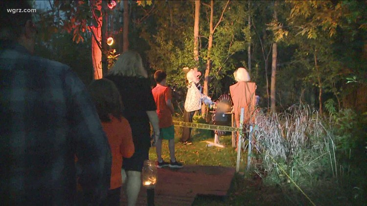 Spooktacular walk: Haunted Woods Walk kicks off in West Seneca