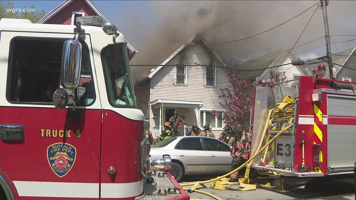 9 people displaced after house fire