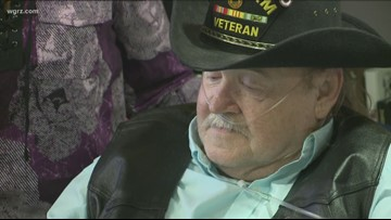 Vietnam Vet Honored With Overdues Medals