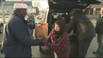 Buffalo City Mission helps feed hungry during holiday season