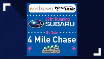 The 39th Running of the Buffalo Subaru 4 Mile Chase