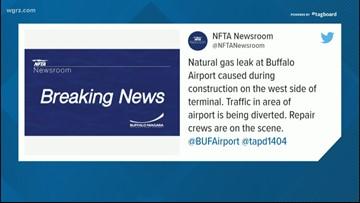 Gas Leak Diverts Traffic At Airport