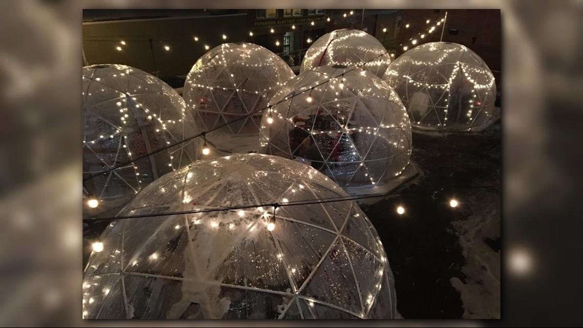 Albany Gas Prices >> Tappo unveils new igloo dining | wgrz.com