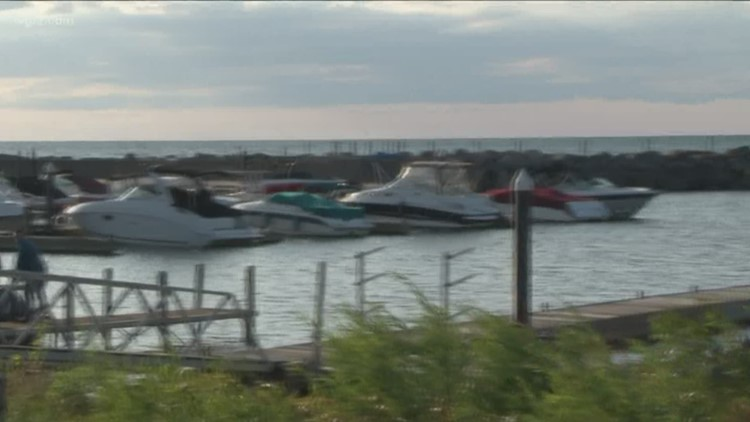 Sturgeon Point Marina Break wall repairs to come