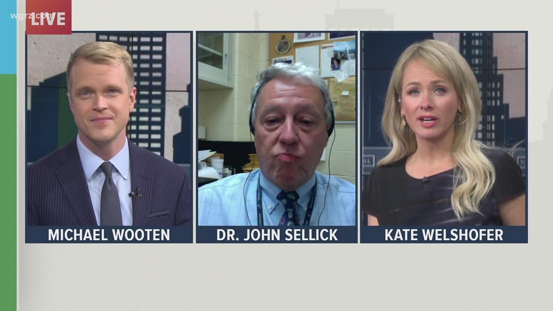 Thursday Town Hall: Dr. John Sellick, epidemiologist with Kaleida Health