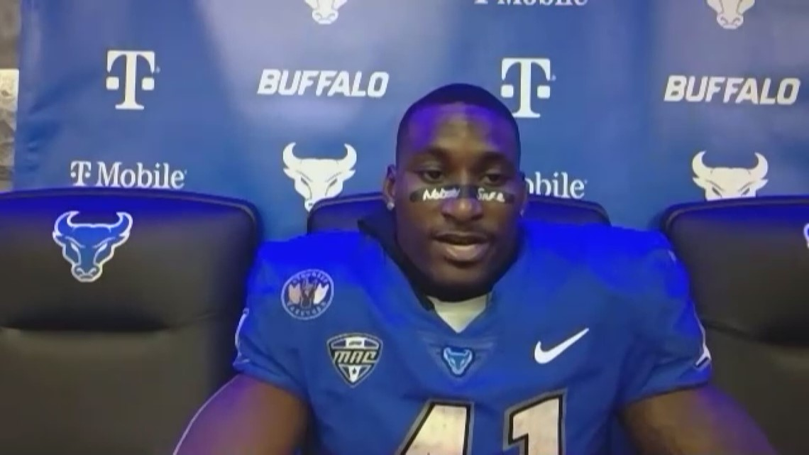 UB's Kevin Marks Jr. honors high school teammate, Florida-star Keyontae Johnson, in monster game