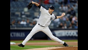 Yanks Blank Boston, 8-0