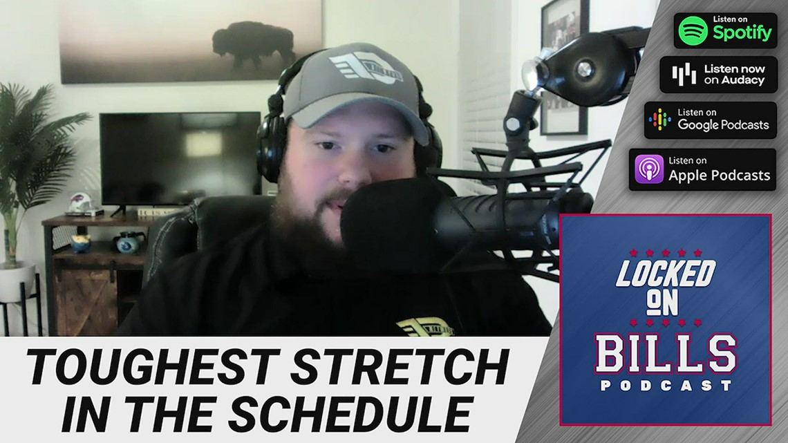 Locked On: What's the toughest stretch in the schedule for the Bills?