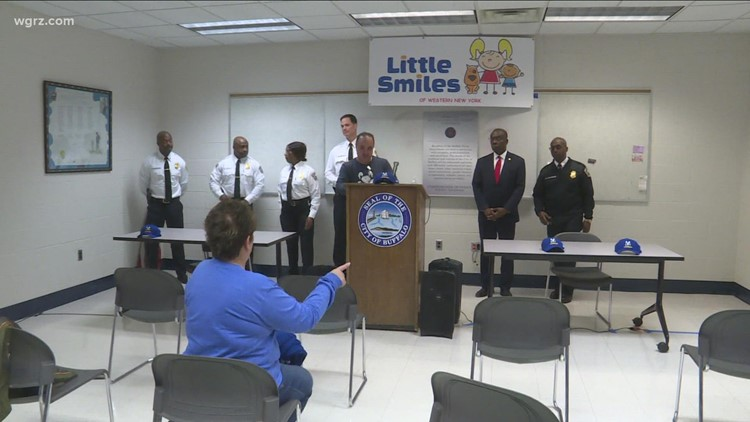 Smile rooms coming to Buffalo police district offices