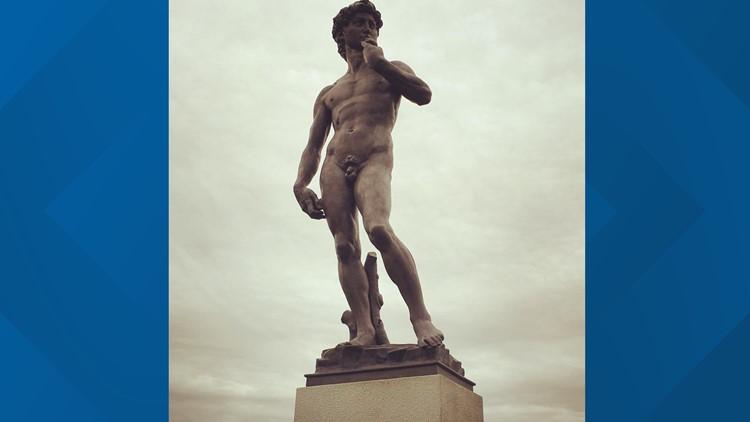 The David replica