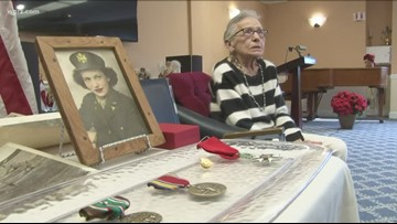 World War II army nurse honored with U.S. military awards, French Legion of Honor award