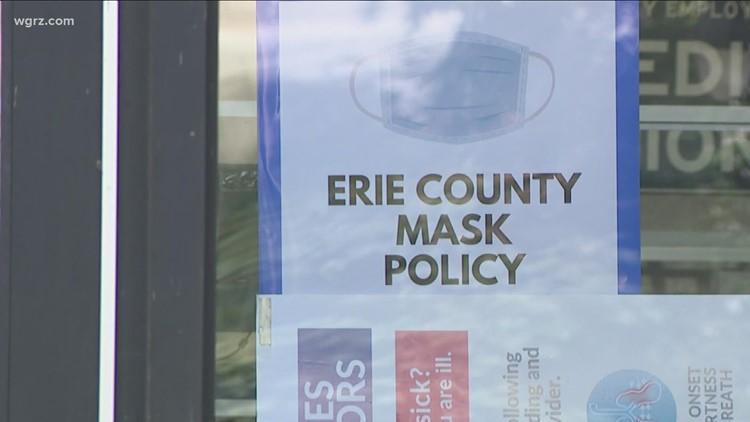 Erie County Mask Mandate Gets Pushback