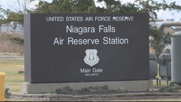 Toxins at Niagara Falls airbase