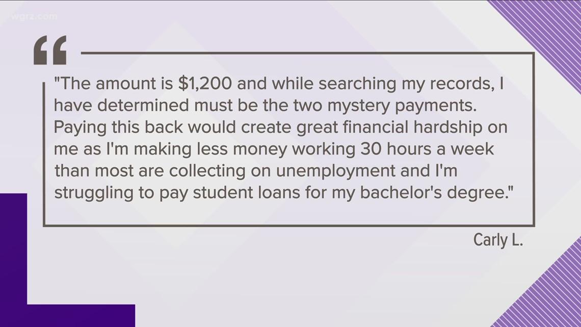 NYSDOL Asking For Money Back