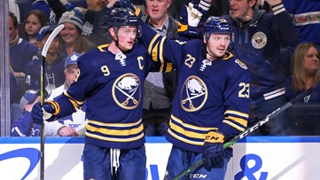 Jack Eichel loves playing against the Leafs