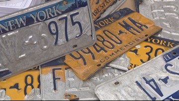 Ortt bill would require DMV to waive fee for new plates