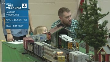 Train and Toy Show Happening at the Fairgrounds in Hamburg