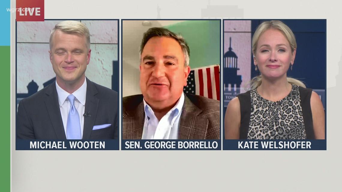 Monday Town Hall: Senator George Borrello discusses NYS Thruway