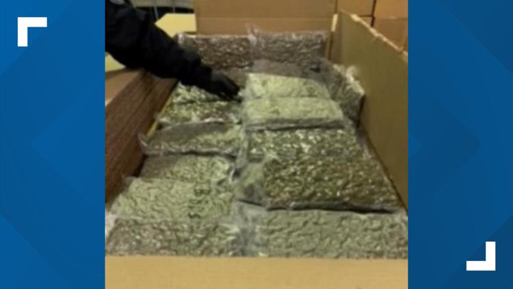 Trucker who claimed to be carrying wax pleads guilty to trying to bring 30 hockey bags of marijuana into the US