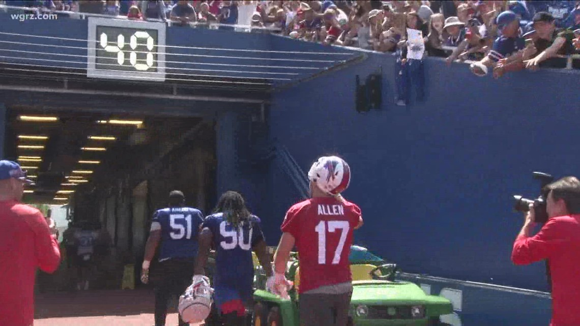 Bills fans excited for upcoming season