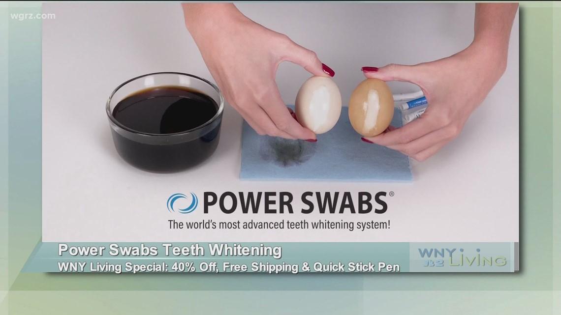 June 5 - Power Swabs Teeth Whitening