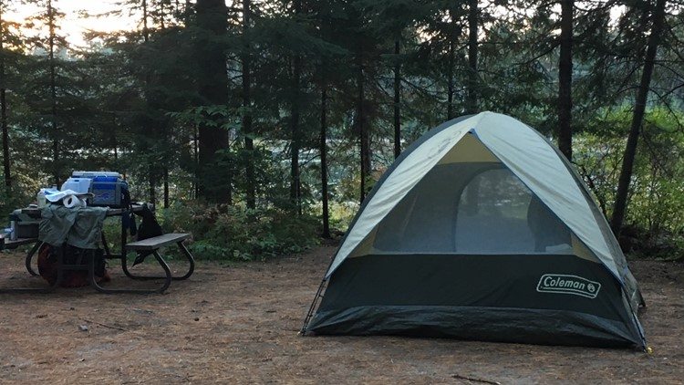 Camping in Algonquin ON