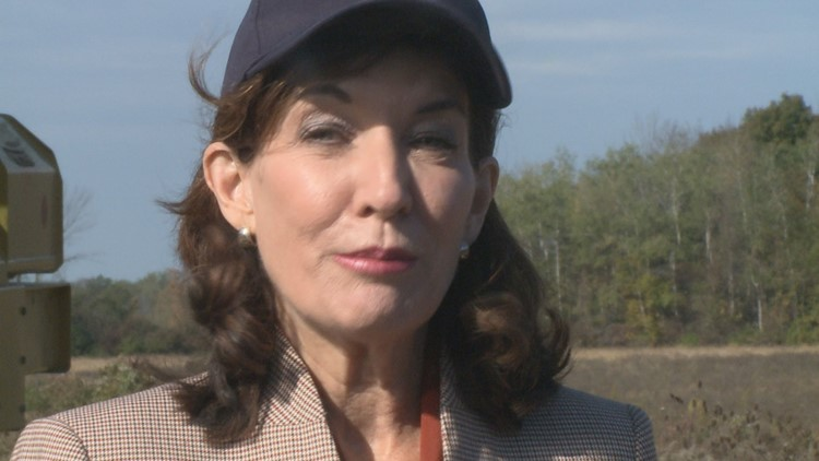 Hochul: 'We're going to get what we can' for unwanted Tesla Riverbend machinery