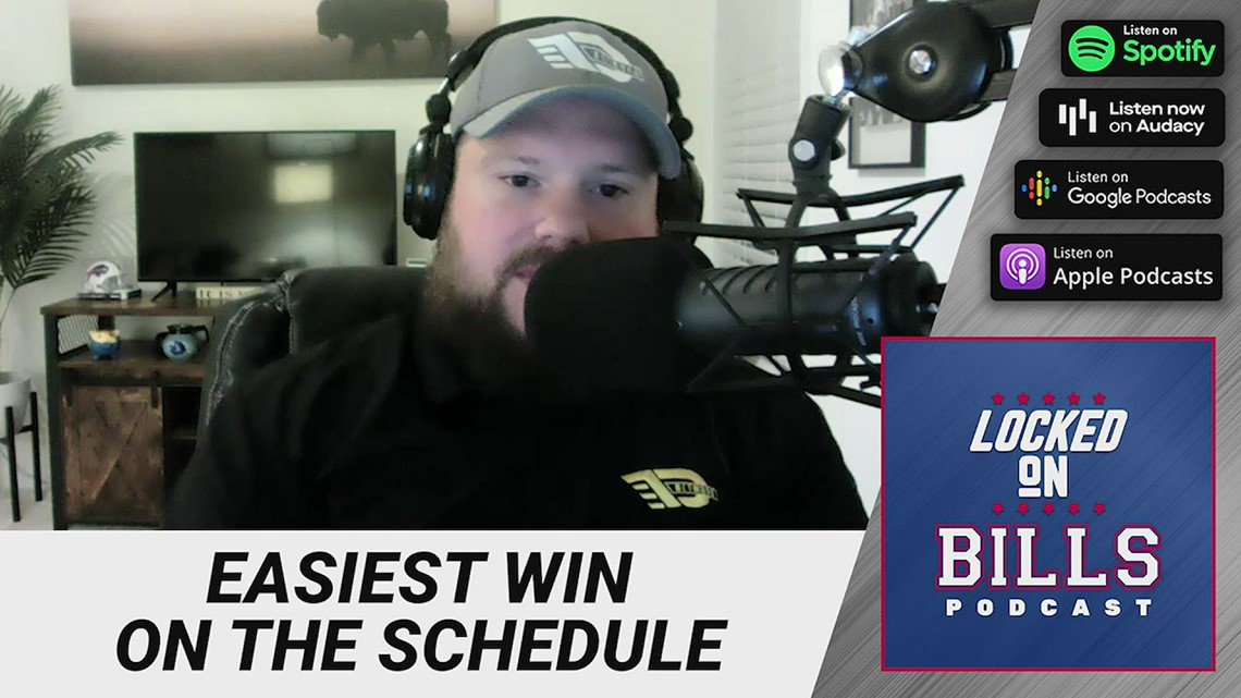 Locked On: What's the easiest win on the 2021 schedule for the Bills?