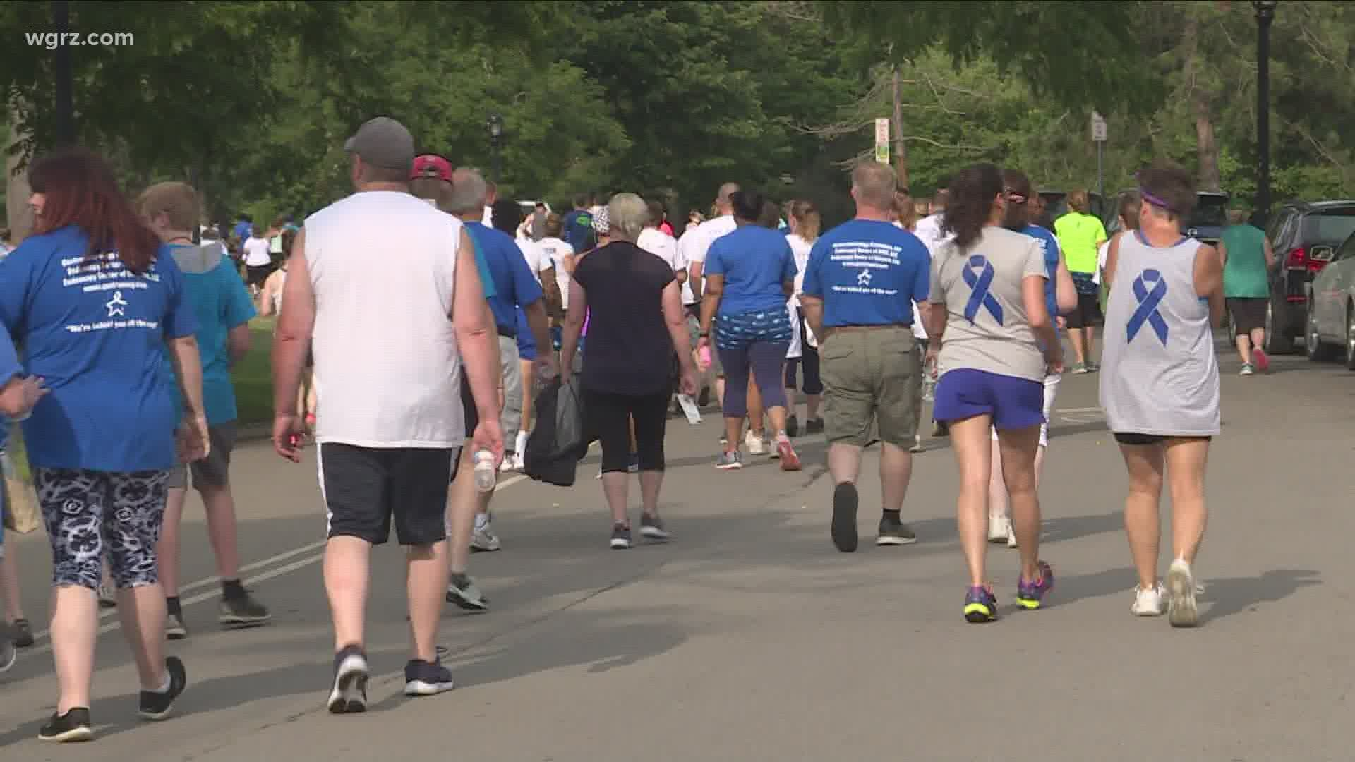 Buffalo S Walk To End Colon Cancer Goes Virtual Amid Covid 19 Pandemic Wgrz Com