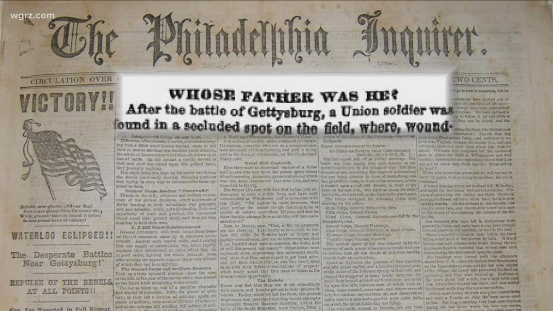 Unknown Stories of WNY:  How a photo of his children helped identify a Portville soldier in Gettysburg