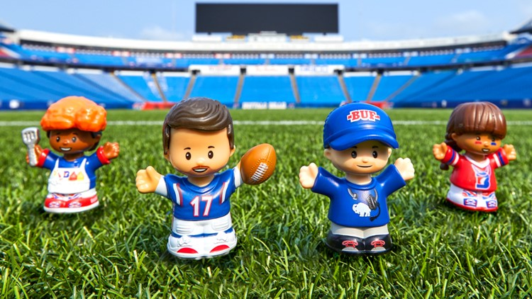 More 'Let's Go Buffalo!' Little People packs by Fisher-Price spotted at Wegmans