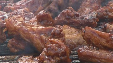 Chicken Wing Festival Starts Tomorrow At Noon