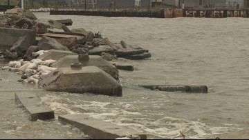 Casting a wary eye on Lake Ontario's shores