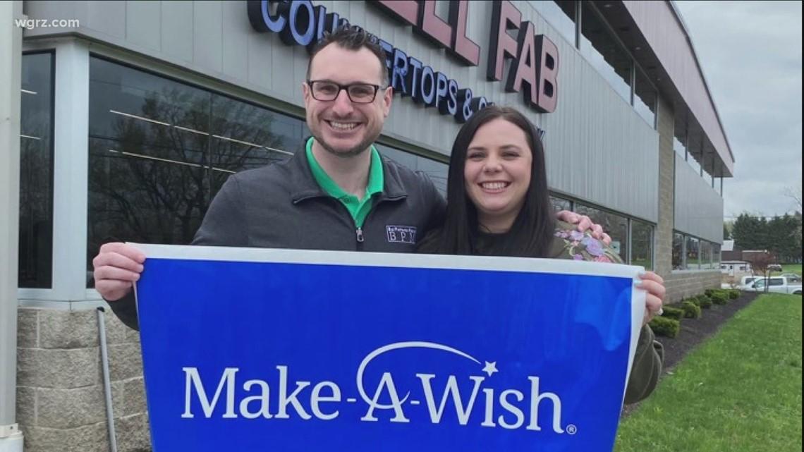 Couple Organizes Make-A-Wish Fundraiser