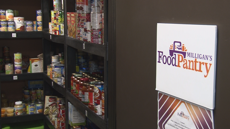 College food pantries helping students in Western New York, across the state