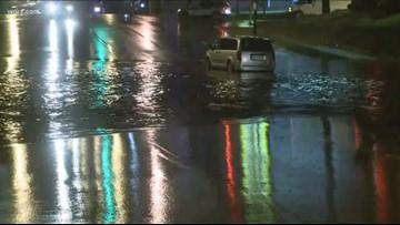 Flash Flooding Causes Major Problems