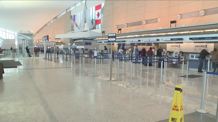 weather causing flight delays  cancellations at buffalo