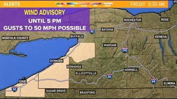 Wind, warmth ahead of thunderstorms Friday