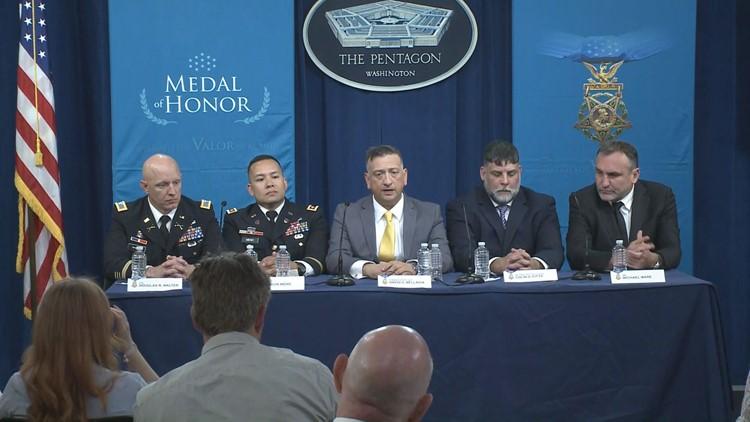 Bellavia, members of platoon discuss Medal of Honor award
