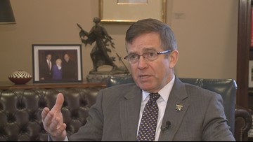 Canisius College president talks with key papal adviser about next Buffalo Bishop