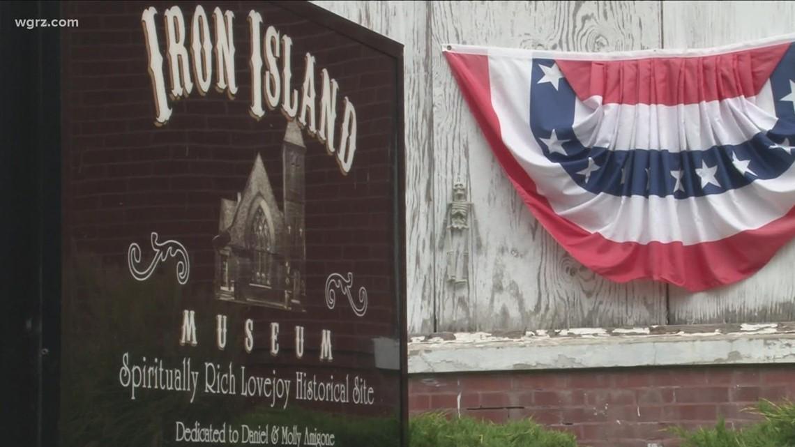 Most Buffalo: 'Iron Island Museum tour'